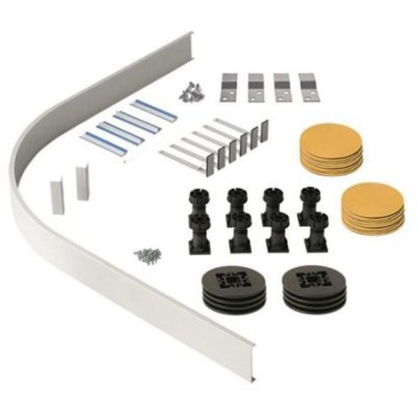 Shower Tray Riser Kit for Quadrant and Off Set Trays . For use with Fresssh Shower Trays