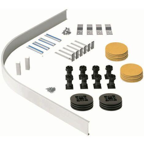 Shower Tray Riser Kit Panel For Quadrant Offset Quadrant Plinth Adjustable Feet