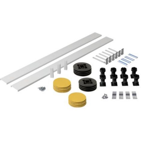 Shower Tray Riser Kit up to 1200mm long Square / Rectangle. For use with Fresssh Shower Trays