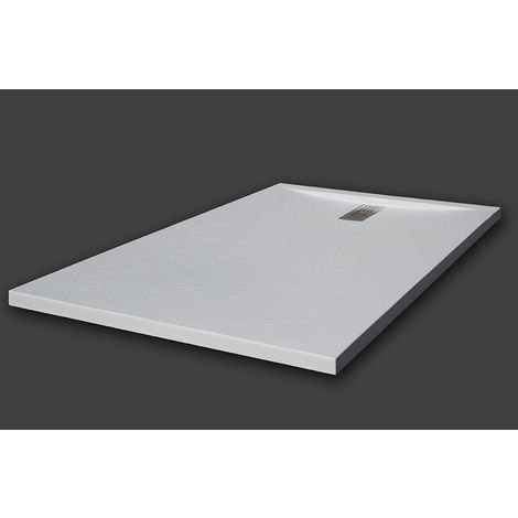 Shower tray super-slim BALTIMORE white Ral 9003