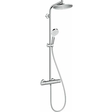 Showerpipe HANSGROHE Crometta S 240 1jet EcoSmart chromé