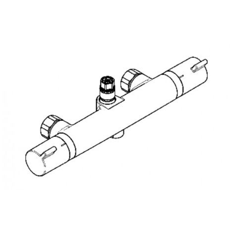 Showerpipe thermostat - HANSGROHE : 92147000