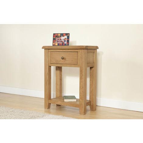 Shrewsbury Small console with 1 drawer & shelf