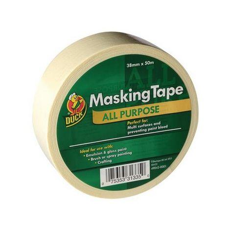 Shurtape 232321 Duck Trade All Purpose Masking Tape 38mm x 50m