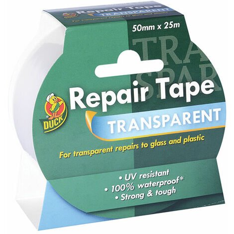 Shurtape 260508 Duck Tape Transparent Repair 50mm x 25m