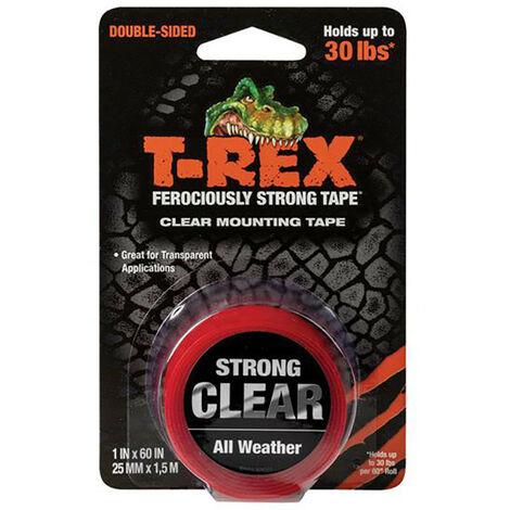 Shurtape SHU285664 T-REX Clear Mounting Tape 25mm x 1.5m