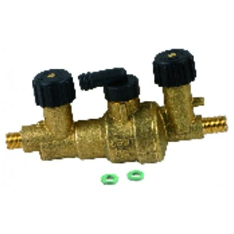 Shut-off valve - DIFF for Chaffoteaux : 60000263