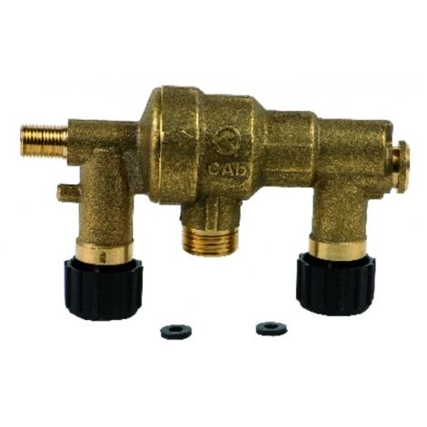 Shut-off valve - DIFF for De Dietrich : 86665557