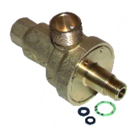 Shut-off valve without tubes with gasket - DIFF for Baxi-Roca : 40804