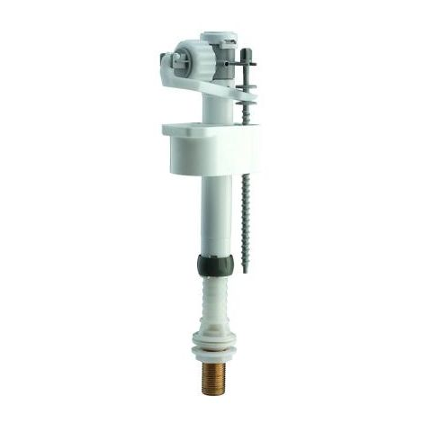 """SIAMP 99T bottom entry inlet valve with 1/2"""" brass connection thread 30992110."""