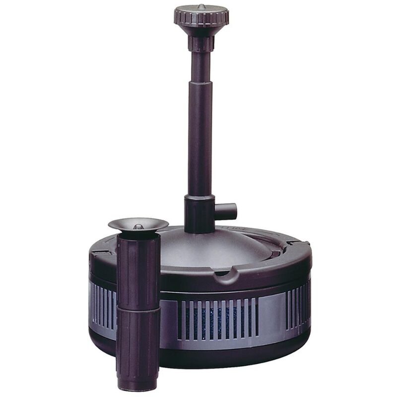 Sicce ecopond 2 pompa con filtro per laghetto 1350 l h for Pompa x laghetto con filtro