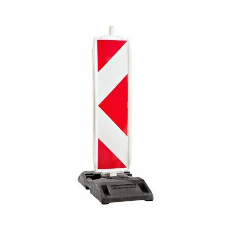 Sicherheitsbake, doppelseitig, Stutzenmaß 60 x 60 mm, rechts- / linksweisend,