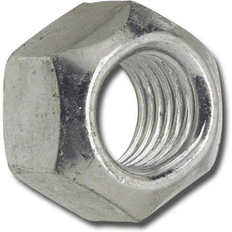 Stahl verzinkt Festigkeit 10 100 Stk DIN 980 Sicherungsmutter M10