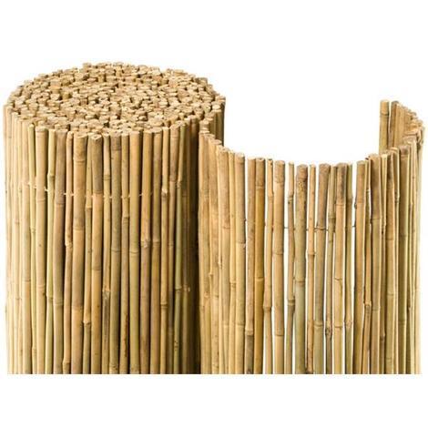 sichtschutzzaun bambusmatte bahia noor 0 9x3m natur