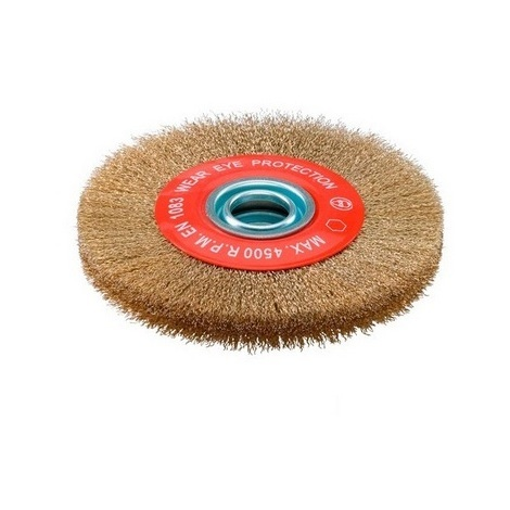 Sidamo - Brosse circulaire avec bagues 150 x 20 x 32 mm