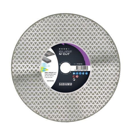 Sidamo - Disco de diamante SURF N\' CUT D.125x22,23xh 3mm