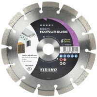 Sidamo - Disque diamant PRO RAINUREUSE D.140x22,23xh 10mm