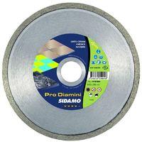 SIDAMO - Disque diamanté Pro Diamini - Matériaux cassants