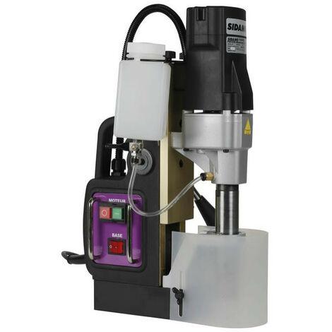 Sidamo - Perceuse à base magnétique 1,1 kW + Coffret de fraises - 35 PM