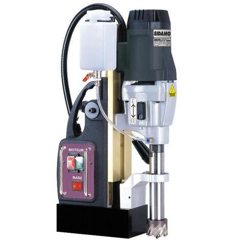 Sidamo - Perceuse magnétique 1800W 230V Monophasé avec un coffret de fraises - 50PM