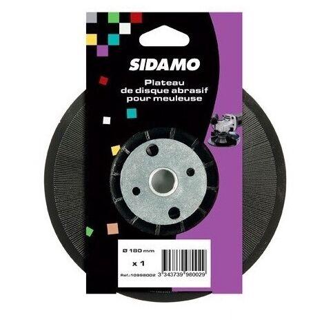 Sidamo - Placa de soporte D.180xm14 con tuerca para amoladora