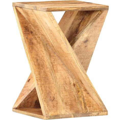 Side Table 35x35x55 cm Solid Mango Wood