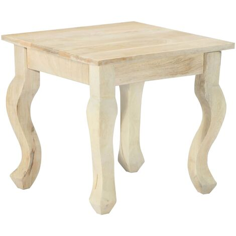 Side Table 43x43x40 cm Solid Mango Wood