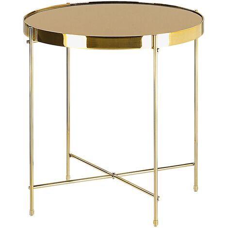 Side Table Gold LUCEA
