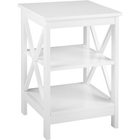 Side Table White FOSTER