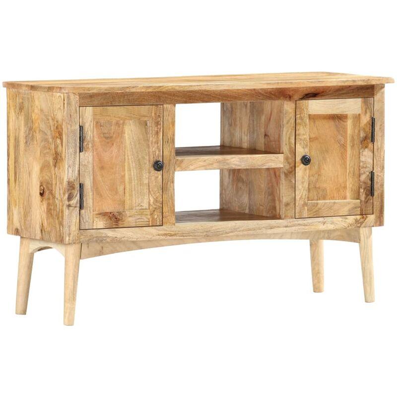Sideboard 100 x 35 x 60 cm Massivholz Mango - VIDAXL