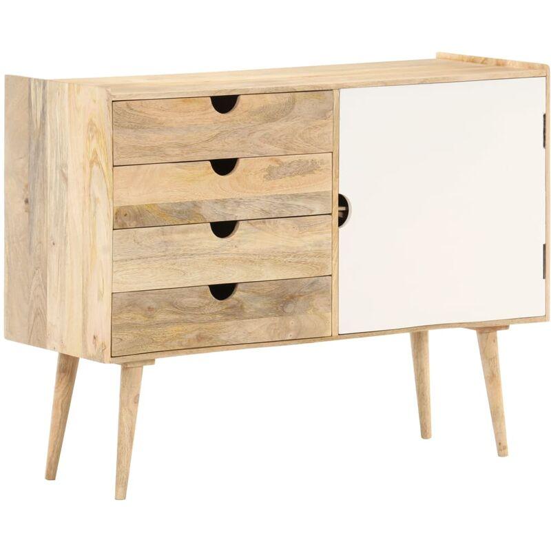 Sideboard 100 x 35 x 74 cm Massivholz Mango - VIDAXL