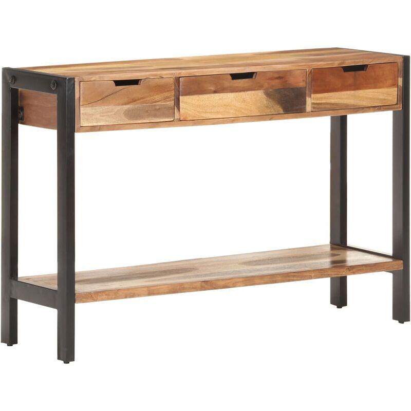 Vidaxl - Sideboard 110x35x75 cm Massivholz mit Palisander-Finish