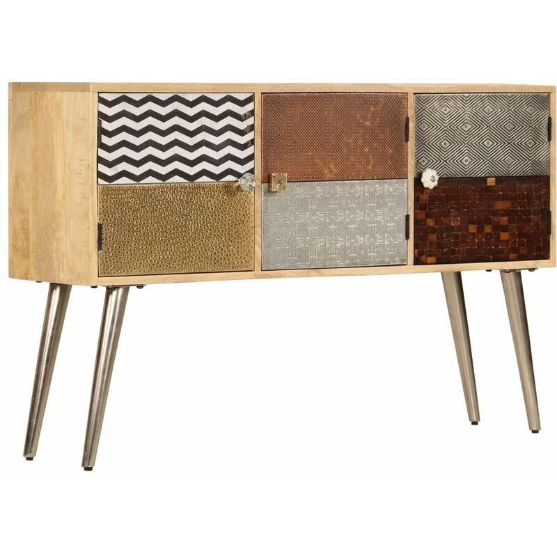 Sideboard 120 x 30 x 75 cm Massivholz Mango - VIDAXL