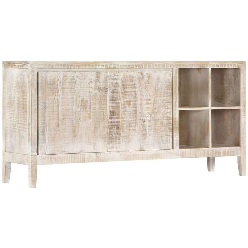 Sideboard 160 x 40 x 76 cm Mangoholz Massiv - VIDAXL