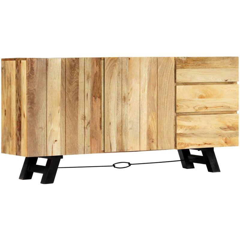 Sideboard 160 x 42 x 80 cm Mangoholz Massiv - VIDAXL