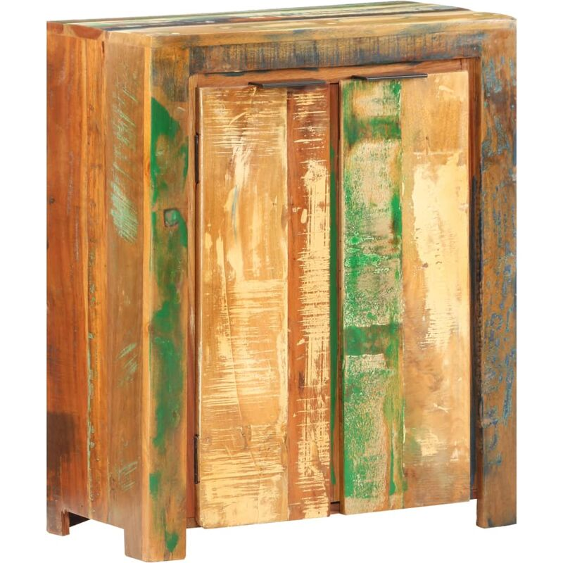 Sideboard 59x33x75 cm Recyceltes Massivholz - VIDAXL