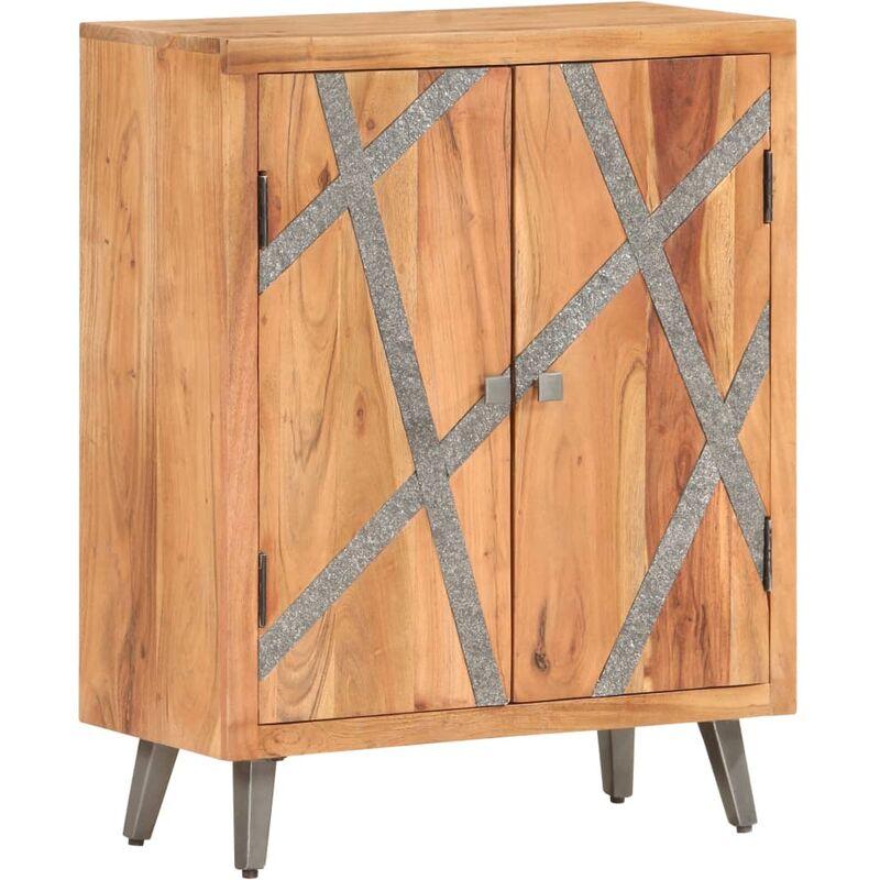 Sideboard 60 x 30 x 75 cm Massivholz Akazie - VIDAXL