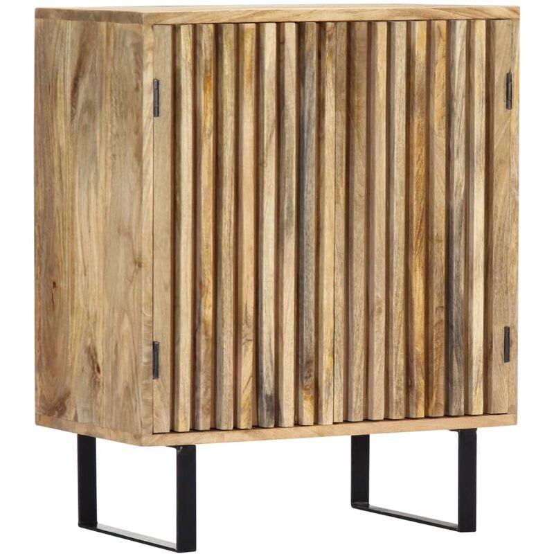 Sideboard 60 x 35 x 75 cm Mango-Massivholz - VIDAXL