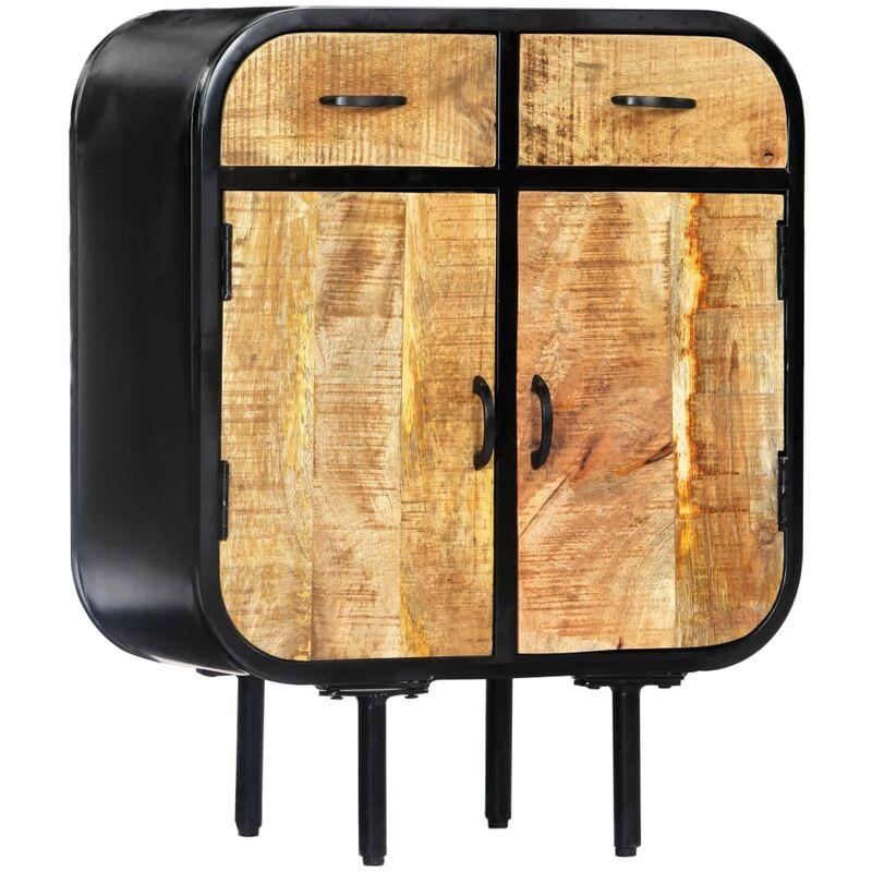 Sideboard 60×30×75cm Mango-Massivholz - VIDAXL