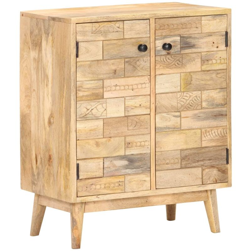 Sideboard 60x35x75 cm Massivholz Mango - VIDAXL