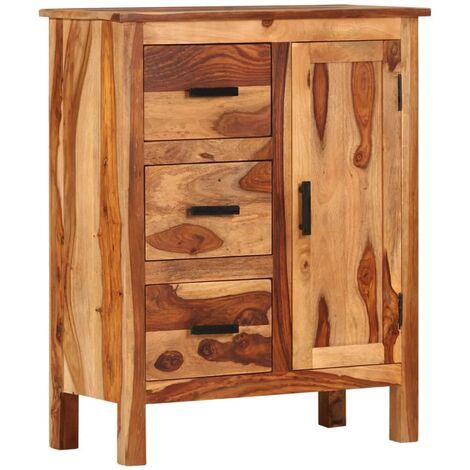 Sideboard 65x30x80 cm Solid Sheesham Wood