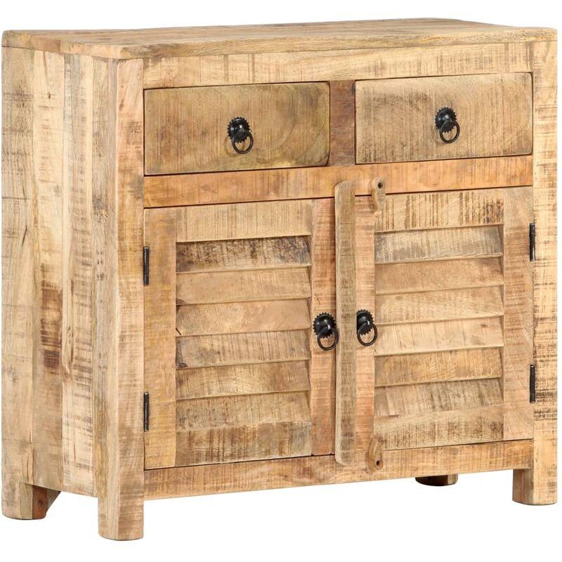 Sideboard 70 x 30 x 68 cm Massivholz Mango - ZQYRLAR