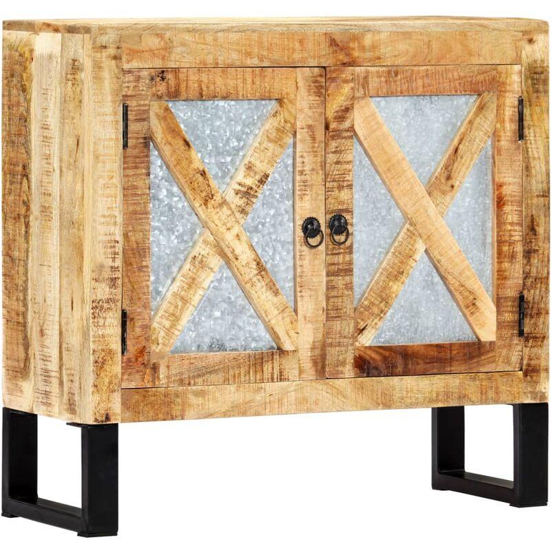 Sideboard 80 x 30 x 76 cm Massivholz Mango - VIDAXL