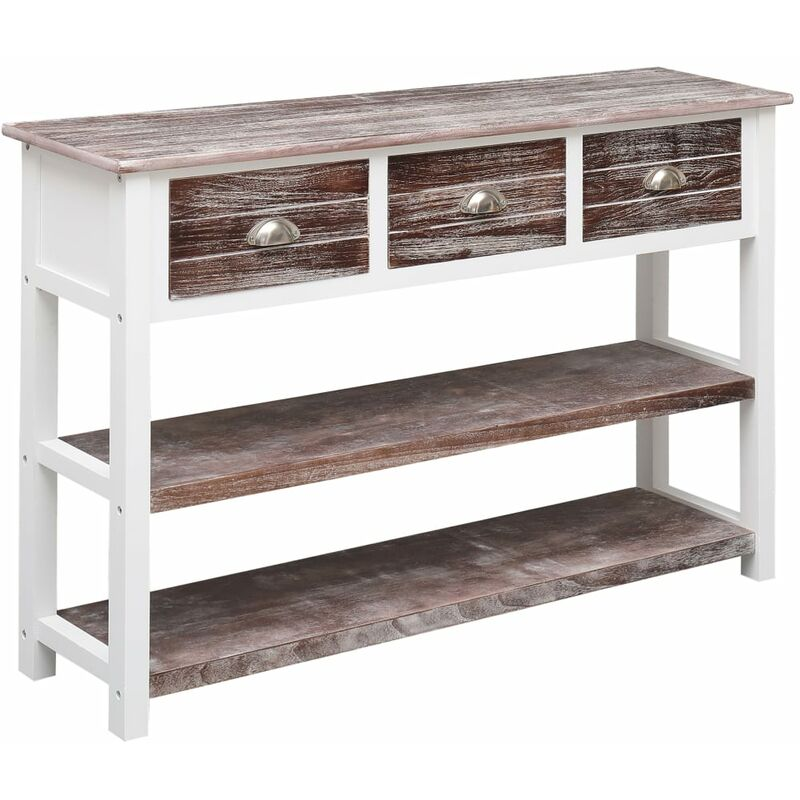 Sideboard Holz Antik Braun 115x30x76cm