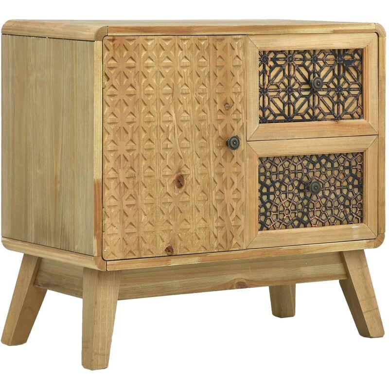 Sideboard Braun 60 x 30 x 56,5 cm Holz - VIDAXL