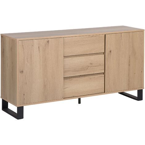 Sideboard Light Wood ELDA