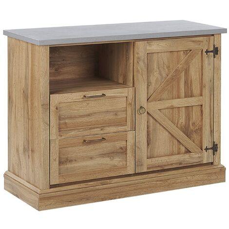 Sideboard Light Wood TORONTO