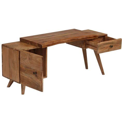 Sideboard Akazienholz Massiv 120 x 36 x 50 cm -