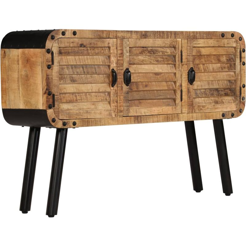 Vidaxl - Sideboard Mangoholz Massiv 120 x 30 x 76 cm