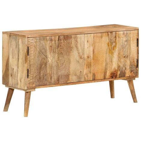 Sideboard Massivholz Mango 120 x 30 x 60 cm